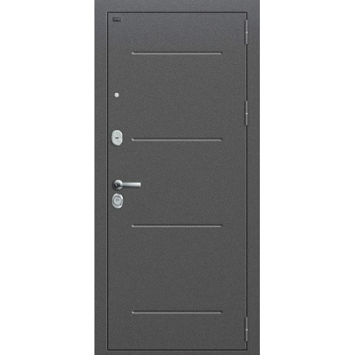Металлическая дверь Р2-216  Антик Серебро/П-28 (Темная Вишня)