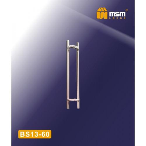 Дверная ручка скоба BS13 SN ( 60см)