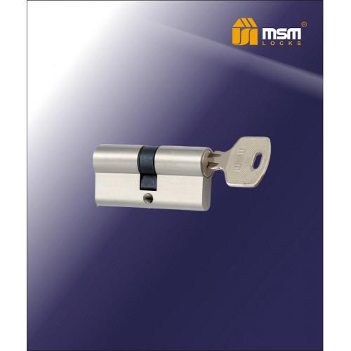 Цилиндр N70-AK1 SN Одинаковый ключ   Матовый никель (SN) Т3