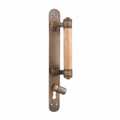Дверная ручка-скоба РДС-83 (латунь с патиной)