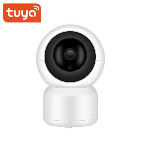 Умная поворотная Wi Fi камера высокого разрешения с функцией сигнализации Tuya HPT218