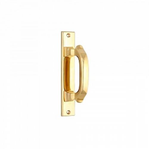 Дверная ручка-скоба РДС-87 (латунь)