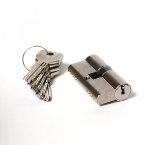 Дверной цилиндр OЕ300.24.0.1200.C5 (100мм/30*70 кл/кл) хром CISA