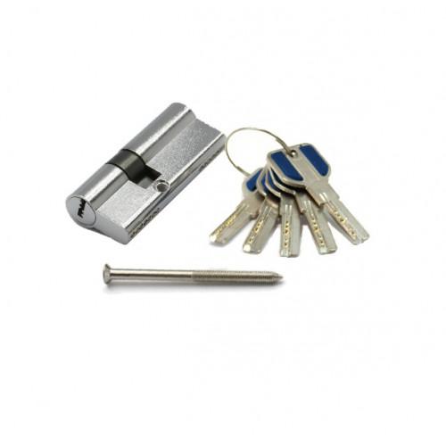Цилиндр Замкофф BR 110 (32Х78) 5 ключей, хром