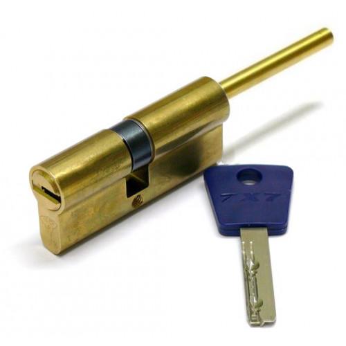Цилиндр Mul-T-Lock 7х7 с перекодировкой, со штоком усиленный 96 (31U х 65)