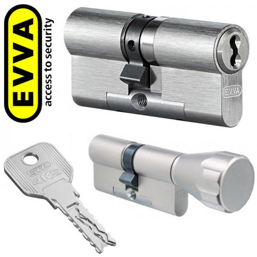 Цилиндр EVVA 4KS (77мм/36Вх41) золото, никель