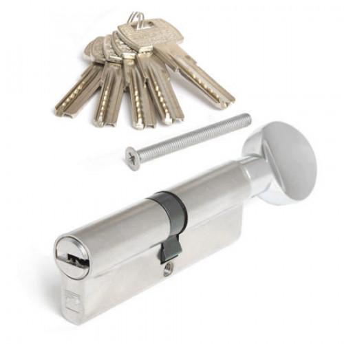 Цилиндр (личинка для замка) Apecs Premier RT-100-С-NI (100мм/45х55 В) никель