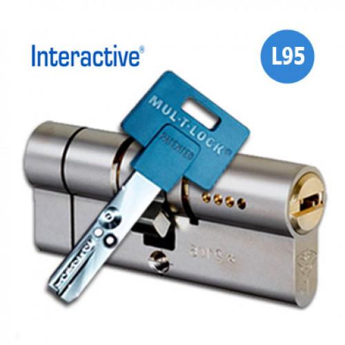 Цилиндр Mul-T-Lock Interactive L95 (40x55) кл.верт.