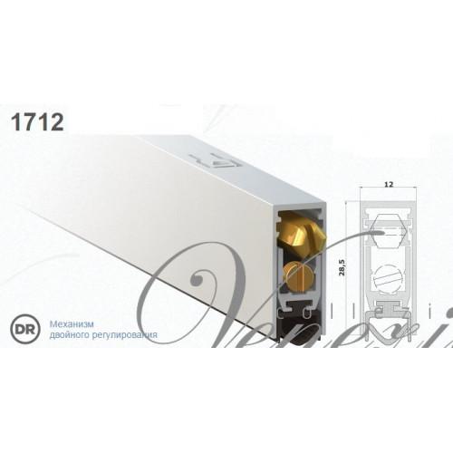 Автопорог-уплотнитель дверной Venezia 1712/900 мм регулировка 2-ух уровневая VNZ1417