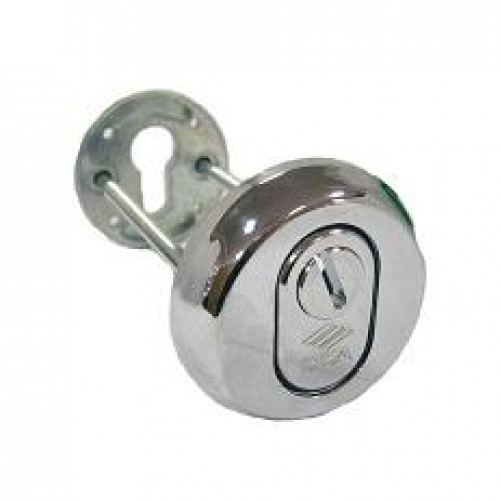 Броненакладка на цилиндр 06.460.51.18 /хром/ CISA Reg