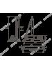 Доводчик N 3 S мал. морозост. (до 80 кг) белый НОРА