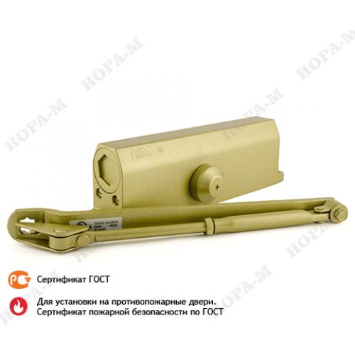 Доводчик N 5 S морозост. (до 160 кг) зол (605 gold) НОРА