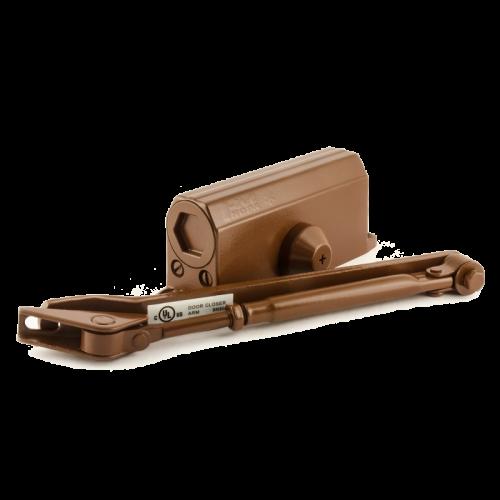 Доводчик дверной Нора-М 2S- морозостойкий 50 кг (коричневый )