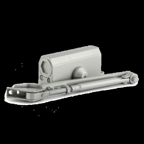 Доводчик дверной Нора-М 2S- морозостойкий 50 кг (серый )