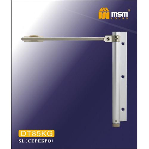 Доводчик пружинный MSM DT85KG WH (белый) с регулировкой, до 85кг