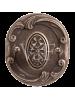 Завертка к ручкам BK 74 к ручкам Соланж и Наполи серебро античное блестящее