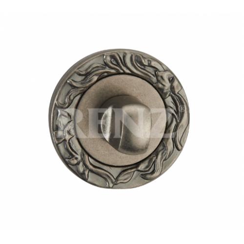 Завертка к ручкам декоративная BK 20 серебро античное