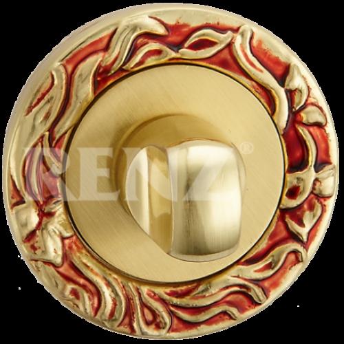 Завертка к ручкам декоративная BK 20 антикварное золото