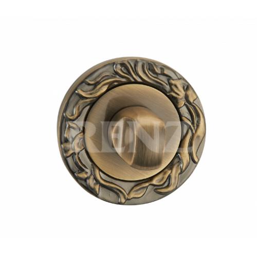 Завертка к ручкам декоративная BK 20 бронза античная матовая