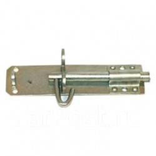 Задвижка дверная ЗТ-150 (черный глянец) упак. 2шт