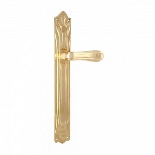 Дверная ручка РДП 07 (покрытие золотом 24К)
