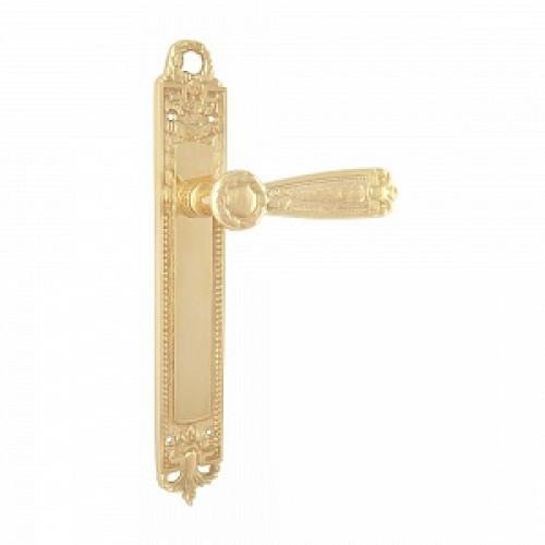 Дверная ручка РДП 09 (покрытие золотом 24К)