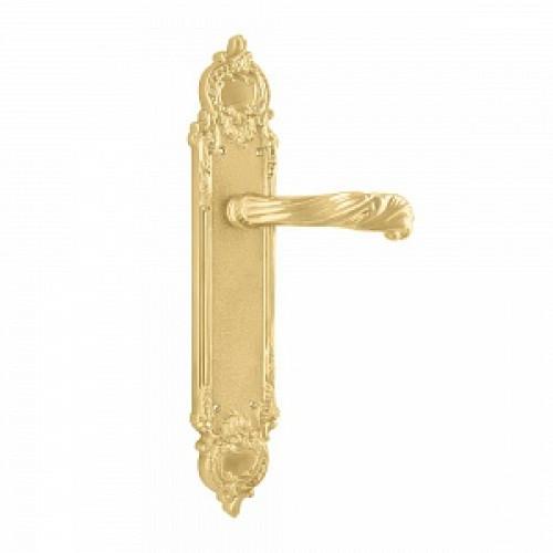 Дверная ручка РДП 18 (покрытие золотом 24К)