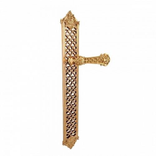 Дверная ручка РДП-03 (покрытие золотом 24К)