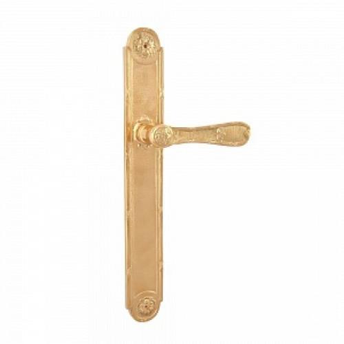 Дверная ручка РДП-06 (покрытие золотом 24К)