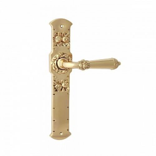 Дверная ручка РДП-24(покрытие золотом 24К)