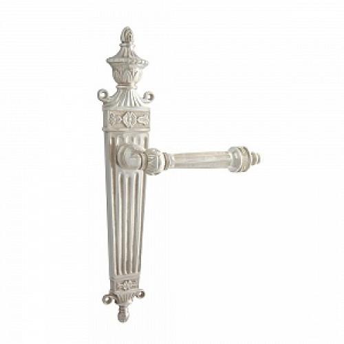 Дверная ручка РДП-28 (покрытие серебром)