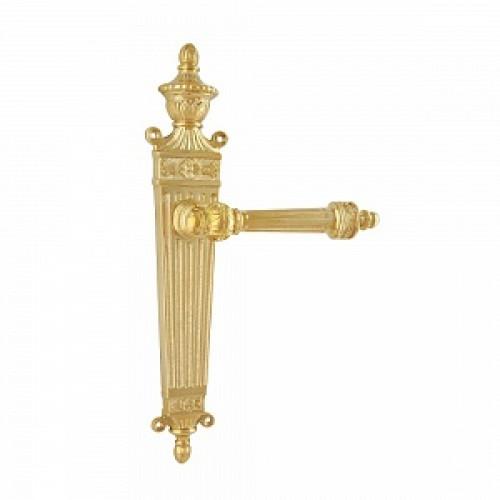 Дверная ручка РДП-28(покрытие золотом 24К)