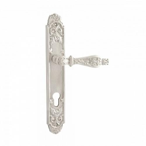 Дверная ручка РДП-29(покрытие серебром)