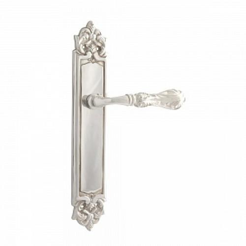 Дверная ручка РДП-30(покрытие серебром)