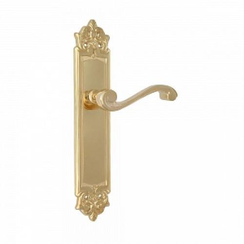 Дверная ручка РДП-31(покрытие золотом 24К)