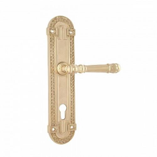 Дверная ручка РДП-33 (покрытие золотом 24К)