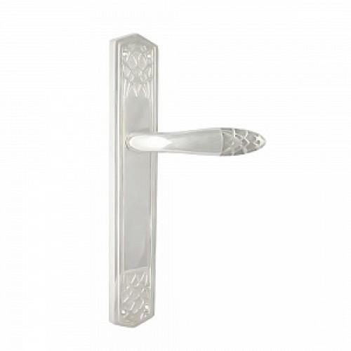 Дверная ручка РДП-37 (покрытие серебром)