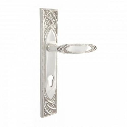 Дверная ручка РДП-38 Покрытие серебром