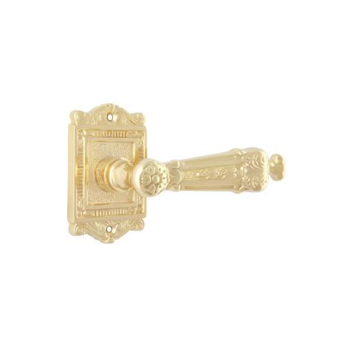 Дверная ручка на розетке РДР-25 (латунь)