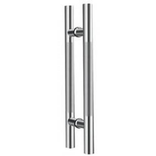 Дверная ручка скоба Apecs HC-0920-25/300-INOX (Серебро)