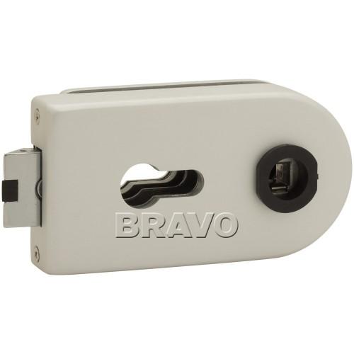 Замок Bravo СТ MP-600-CL AL Алюминий