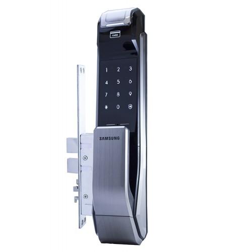 Врезной биометрический Push-PullSamsung SHS-P718 LBK Black