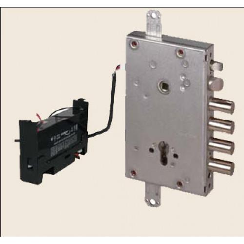 Врезной электромоторный замок E-volution E6535.28 .0 для металлических дверей
