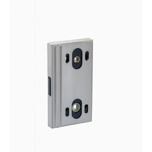 Защёлка для стеклянной двери магнитная (хром матовый )